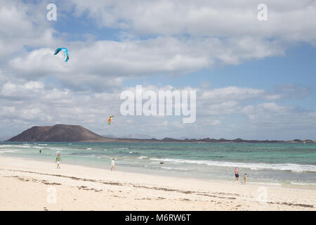 Playa del Mor, Fuerteventura, Canary Islands. - Stock Photo
