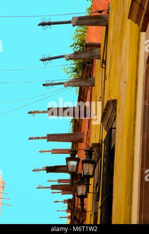 San Miguel de Allende a city in Central Mexico. - Stock Photo