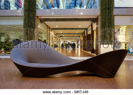 christmas in bologna, galleria cavour - Stock Photo