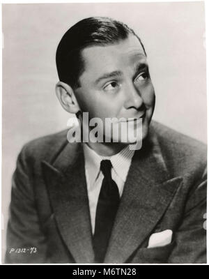 Herbert Marshall, Publicity Portrait for the Film, 'Trouble in Paradise', Paramount Pictures, 1932 - Stock Photo