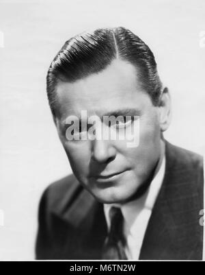 Herbert Marshall, Publicity Portrait for the Film, 'Always Goodbye', 20th Century Fox, 1938 - Stock Photo