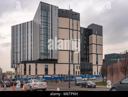 The half completed new Royal Liverpool Hospital. Formerly under construction by defunct Carillion. - Stock Photo