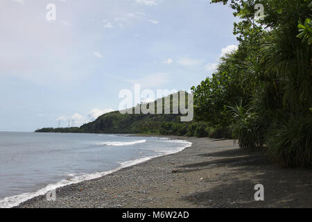 Beautiful quiet beaches in the northwest of Bali - Stock Photo