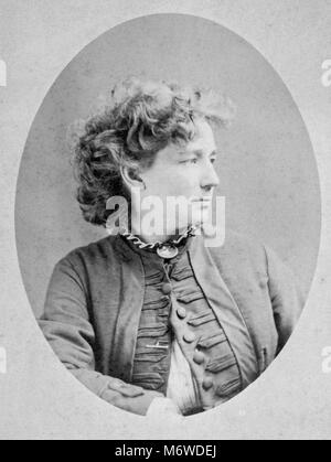 Victoria Woodhull, Victoria Claflin Woodhull, Victoria Woodhull Martin (1838 – 1927) American leader of the women's - Stock Photo