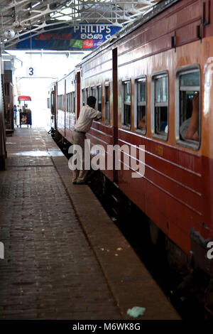 Colombo Station Sri Lanka - Stock Photo