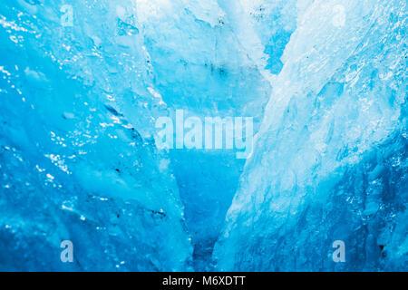 Ice Climbing at Exit Glacier - Stock Photo