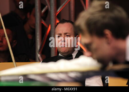 "John Higgins is playing snooker during World snooker tournament ""Victoria Bulgaria open"" in Sofia, Bulgaria – nov - Stock Photo"