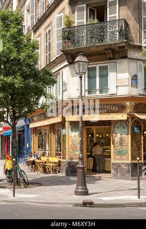 PARIS, FRANCE:  Boulangerie  Au Petit Versailles du Marais in Rue Francois Miron - Stock Photo