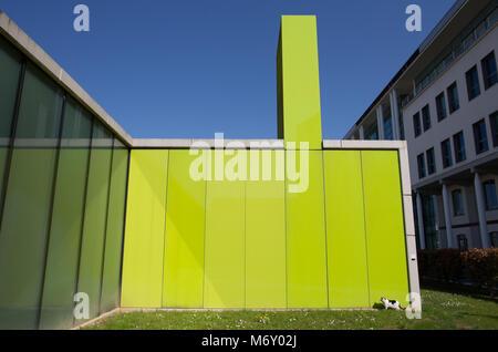 MILAN, ITALY, MARCH 28, 2017 - Modern buildings area in Maciachini place in Milan ; Italy - Stock Photo