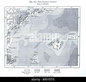 Map of Majorca Stock Photo 26222298 Alamy