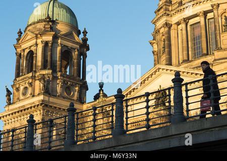 The Berliner Dom, Am Lustgarten, Mitte, Berlin, Germany - Stock Photo