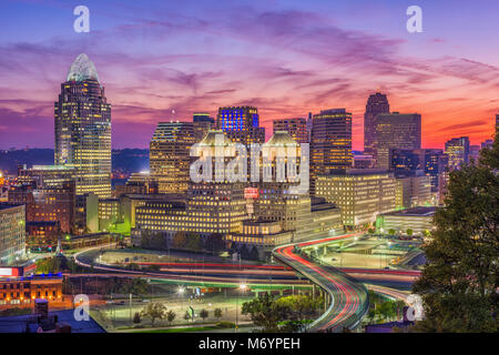 Cincinnati, Ohio, USA - Stock Photo
