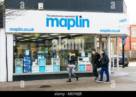 A branch of Maplin in Bromley High Street, south London - Stock Photo