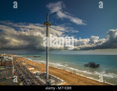 Brighton from above - Stock Photo