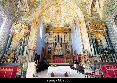 Capela de São Miguel / Chapel of St Michael, Universidade de Coimbra / University of Coimbra, Coimbra, Centro Region, - Stock Photo