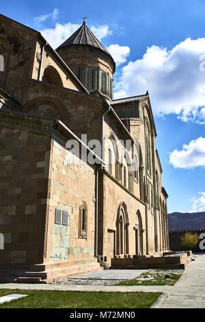 Narikala Castle in Tbilisi, Georgia. - Stock Photo