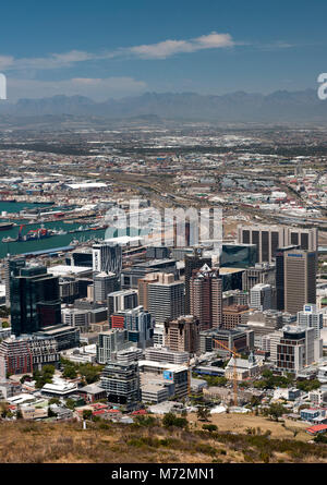 The Cape Town CBD in South Africa. - Stock Photo