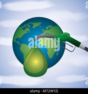 biofuel ecology alternative - Stock Photo