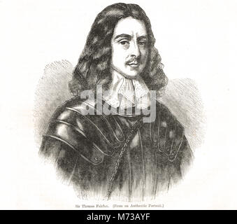 Sir Thomas Fairfax 3rd Lord Fairfax of Cameron General and Parliamentary Commander in Chief during the English Civil War