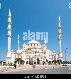 Sheikh Zayed Mosque, Fujairah, United Arab Emirates - Stock Photo