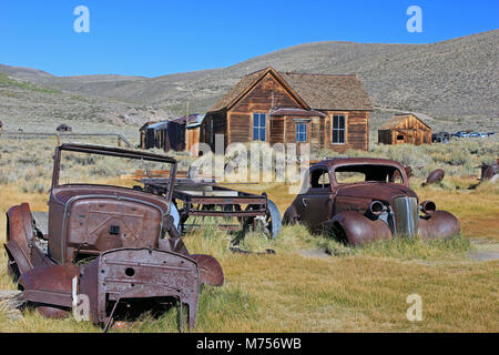 Bodie California Ghost Town - Stock Photo