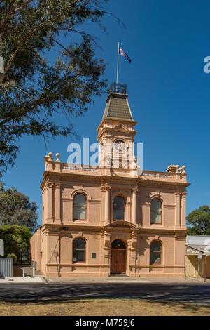 Shire Hall, Yea, Victoria, Australia - Stock Photo