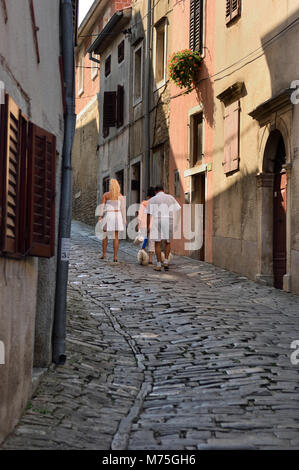 Motovun, central Istria, Croatia - Stock Photo
