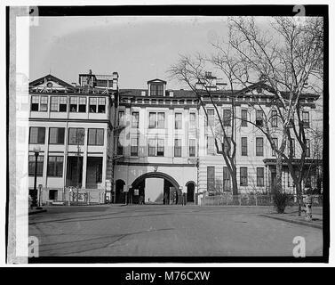 Navy Yard gate LOC npcc.07625 - Stock Photo