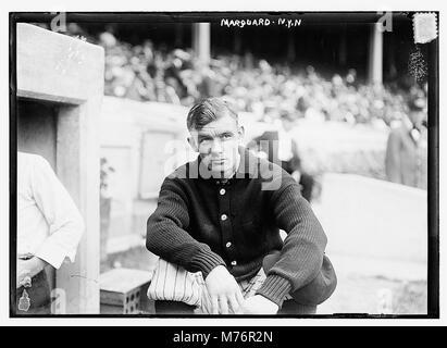 Rube Marquard, New York NL (baseball) LCCN2014691342 - Stock Photo
