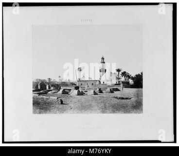 Souâdj - cimetière Musulman et tombeau de Mourâd-Bey - Félix Teynard. LCCN2001695265 - Stock Photo
