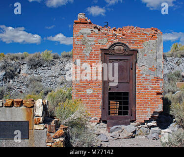Bodie, California Ghost Town - Stock Photo