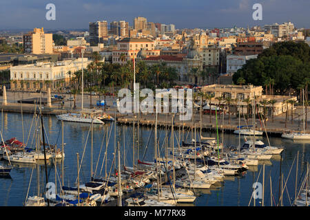 Marina, Cartagena Port, Murcia, Spain, Europe - Stock Photo
