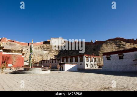 Palkhor Monastery, Gyantse, Tibet, China, Asia - Stock Photo