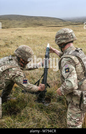 The Household Division on the Onion Range MOD 45163594 - Stock Photo