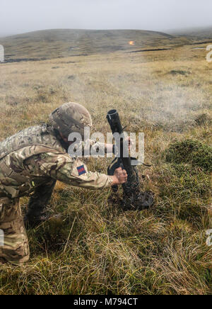 The Household Division on the Onion Range MOD 45163575 - Stock Photo