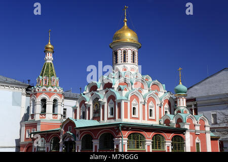 Europe, Russia, Moscow, red square, in Russian orthodox church, - Stock Photo