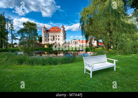 Neo gothic style palace surrounded by an english landscape garden in neo gothic style palace surrounded by an english landscape garden in wojanow poland workwithnaturefo