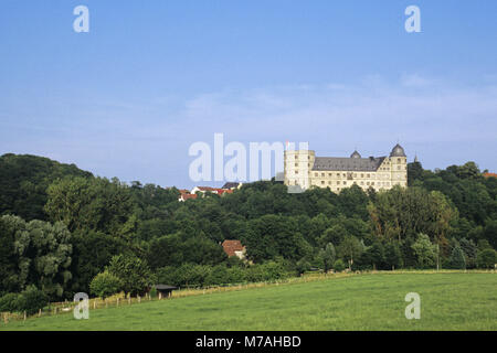 Höhenburg Wewelsburg, district Paderborn, North Rhine-Westphalia, Germany, - Stock Photo