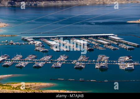 The USA, Nevada, Clark County, Boulder city, Lake Mead National Recreation Area, Boulder Basin, Hemenway Harbour, - Stock Photo