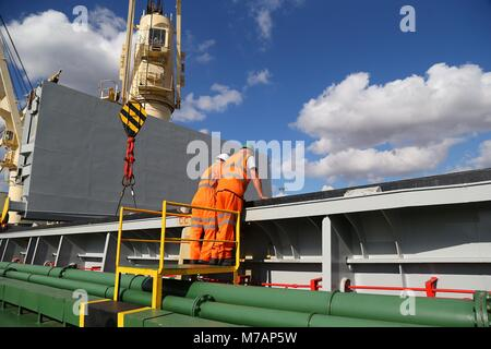 Rainham Steel depot in Scunthorpe, Northern England. 23rd September 2016 Picture by James Boardman - Stock Photo