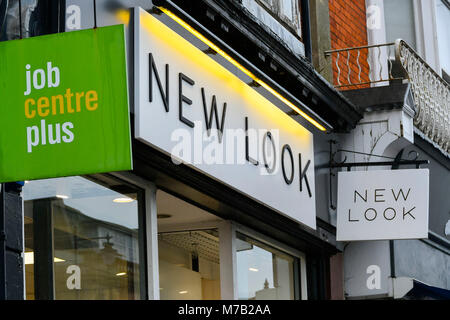 New Look Shop Front On Oxford Street London Uk Stock