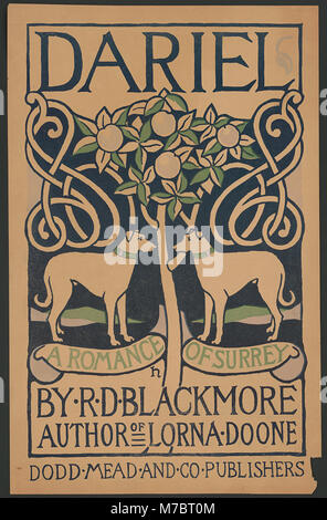 Dariel, a romance of Surrey by R.D. Blackmore, author of Lorna Doone, Dodd Mead and Co. publishers - H. LCCN2014649709 - Stock Photo