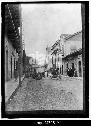 HONDURAS. STREET SCENE IN TEGUCIGALPA LCCN2016863547 - Stock Photo