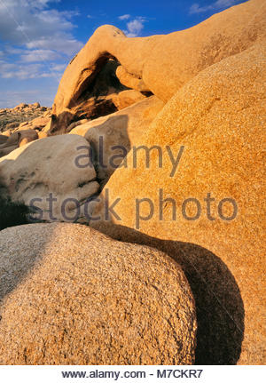 Arch Rock, Joshua Tree National Park, California - Stock Photo