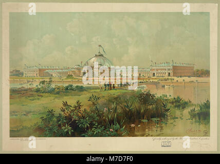 Horticultural hall, World's Columbian Exposition LCCN2003681666 - Stock Photo