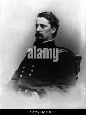 Maj. Gen. Winfield Scott Hancock, 1824-1886, half length portrait, seated, facing left LCCN2006675523 - Stock Photo