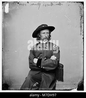 Major General George Armstrong) Custer LOC cwpbh.03216 - Stock Photo