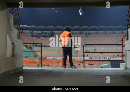 Stadio Meazza (S.Siro) during A.C. Milan match - Stock Photo