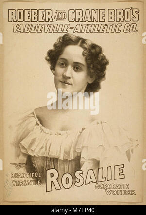 Roeber and Crane Bro's Vaudeville-Athletic Co. LCCN2014635724 - Stock Photo