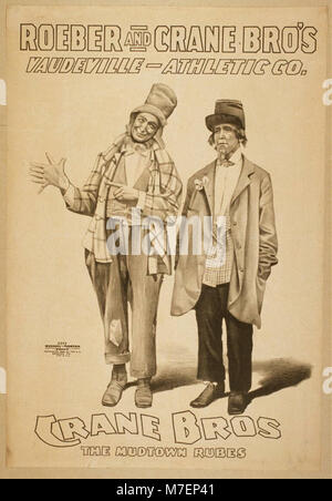 Roeber and Crane Bro's Vaudeville-Athletic Co. LCCN2014635725 - Stock Photo